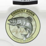 Current River Fly Fishing Sticker Decal Catch & Release