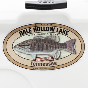 Dale Hollow Lake Smallmouth Bass sticker Tennessee Decal