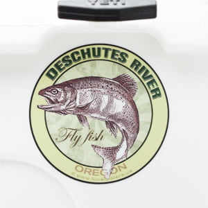 Deschutes River Fly Fishing sticker Oregon decal