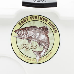 East Walker River fly fishing sticker decal catch & release