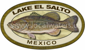 Lake El Salto Fishing Sticker Bass Decal Mexico Sinaloa